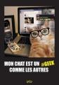 Couverture Mon chat est un geek comme les autres Editions Jungle ! 2015