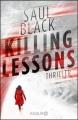 Couverture Leçons d'un tueur Editions Knaur 2015