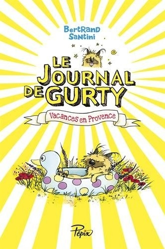 Couverture Le journal de Gurty