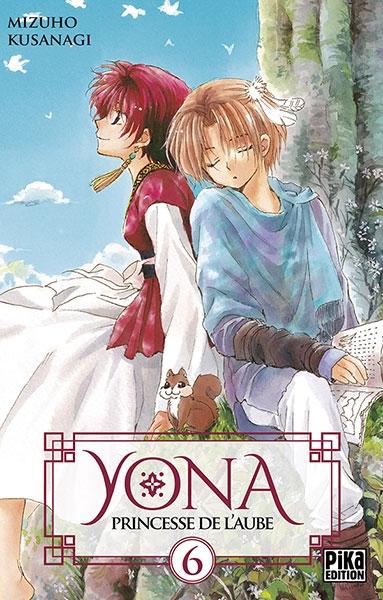 Couverture Yona, princesse de l'aube, tome 06