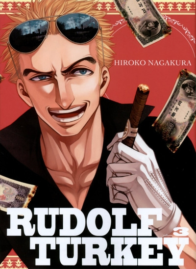 Couverture Rudolf Turkey, tome 3