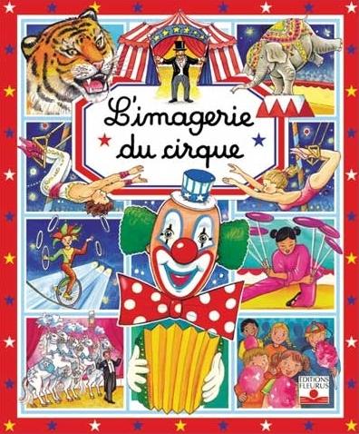 Couverture L'imagerie du cirque