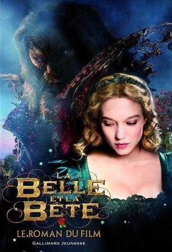 Couverture La Belle et la Bête, le roman du film