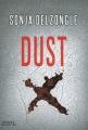 Couverture Hanah Baxter, tome 1 : Dust Editions Denoël (Sueurs froides) 2015