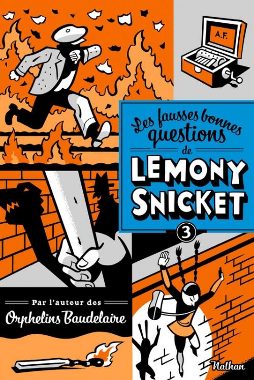 Couverture Les fausses bonnes questions de Lemony Snicket, tome 3 : Ne devriez-vous pas être en classe ?