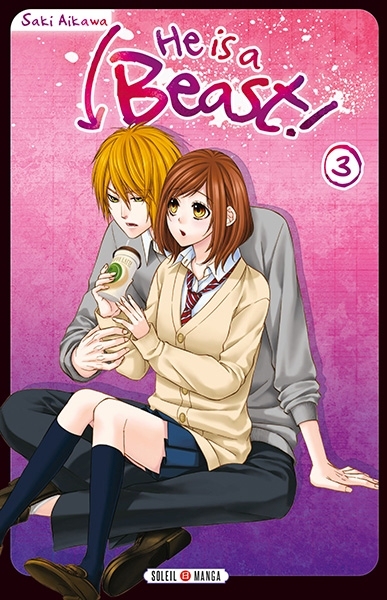 Couverture He is a beast !, tome 03