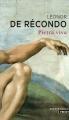 Couverture Pietra viva Editions Points (Grands romans) 2015