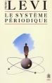 Couverture Le système périodique Editions Le Livre de Poche (Biblio) 1987