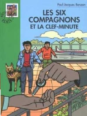 Couverture Les Six Compagnons et la clef-minute
