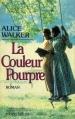 Couverture La couleur pourpre / Cher bon dieu Editions Robert Laffont 1984