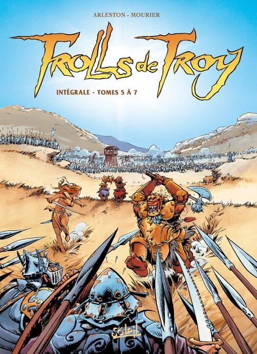 Couverture Trolls de Troy, intégrale, tomes 05 à 07
