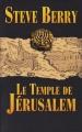 Couverture Le Temple de Jérusalem Editions France Loisirs 2013