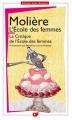 Couverture L'Ecole des femmes Editions Flammarion (GF) 2011