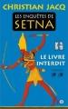 Couverture Les enquêtes de Setna, tome 2 : Le livre interdit Editions XO 2015