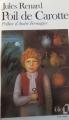 Couverture Poil de carotte Editions Folio  1983