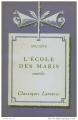 Couverture L'école des maris Editions Larousse 1962
