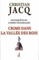 Couverture Les enquêtes de l'inspecteur Higgins, tome 16 : Crime dans la vallée des rois Editions J 2015