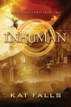 Couverture Inhuman, tome 1 Editions Scholastic 2015
