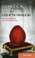 Couverture L'Oeuf de Dragon Editions France Loisirs (Fantasy) 2015
