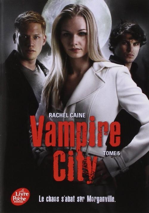 Couverture Vampire City, tome 05 : Le maître du chaos
