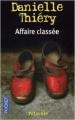 Couverture Commissaire Edwige Marion, tome 04 : Affaire classée Editions Pocket 2003