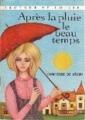 Couverture Après la pluie le beau temps Editions Charpentier (Lecture et loisir) 1969
