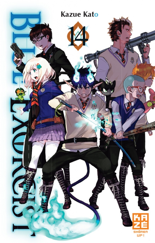 Couverture Blue Exorcist, tome 14