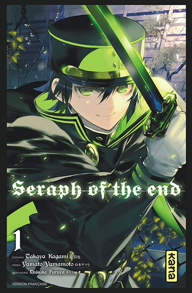 Couverture Seraph of the End, tome 01