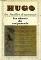 Couverture Les feuilles d'automne suivi de Les chants du crépuscule Editions Garnier Flammarion 1970