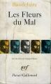 Couverture Les fleurs du mal / Les fleurs du mal et autres poèmes Editions Gallimard  (Poésie) 1980