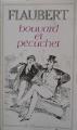 Couverture Bouvard et Pécuchet Editions Flammarion (GF) 1966