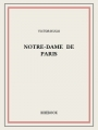 Couverture Notre-Dame de Paris Editions Bibebook 1831