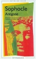 Couverture Antigone Editions Flammarion (GF) 1999