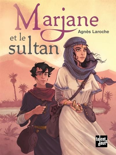 Couverture Marjane et le sultan