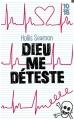Couverture Dieu me déteste Editions 10/18 (Littérature étrangère) 2015