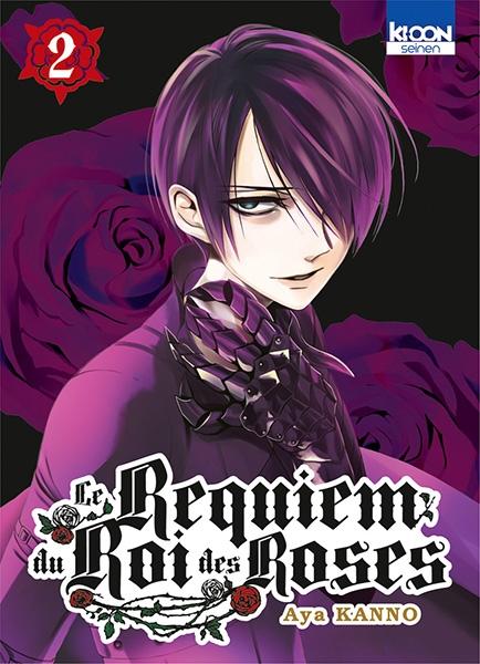 Couverture Le requiem du roi des roses, tome 02
