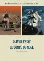 Couverture Les indispensables de la littérature en BD, double, tome 2 : Oliver Twist, Le conte de Noël Editions France Loisirs 2013