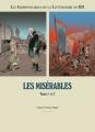 Couverture Les indispensables de la littérature en BD, double, tome 3 : Les Misérables, tomes 1 et 2 Editions France Loisirs 2014