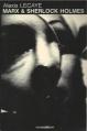 Couverture Marx et Sherlock Holmes Editions Fayard (Noir) 1981