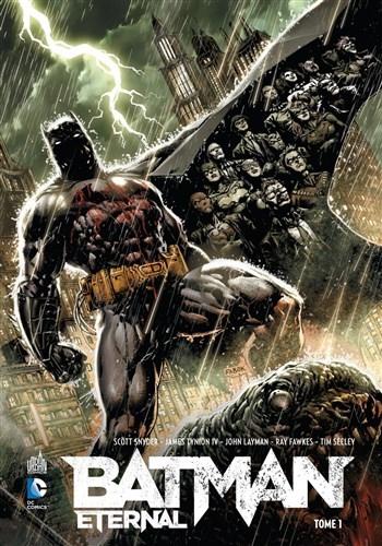 Couverture Batman Eternal (Renaissance), tome 1