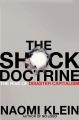 Couverture La stratégie du choc : La montée d'un capitalisme du désastre Editions Knopf 2007