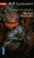 Couverture L'appel de Cthulhu Editions Pocket 2013