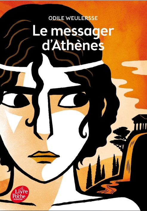 Couverture Le Messager d'Athènes