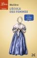 Couverture L'Ecole des femmes Editions Librio (Théâtre) 2015