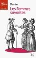 Couverture Les Femmes savantes Editions Librio (Théâtre) 2005