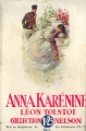 Couverture Anna Karénine, tome 1 Editions Nelson 1930