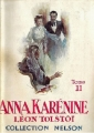 Couverture Anna Karénine, tome 2 Editions Nelson 1930