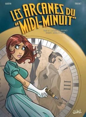 Couverture Les arcanes du Midi-Minuit, tome 12 : L'affaire des origines, partie 2 : Jenna Mc Kalan