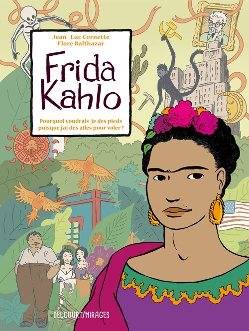 Couverture Frida Kahlo