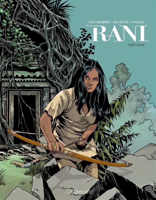 Couverture Rani, tome 5 : Sauvage